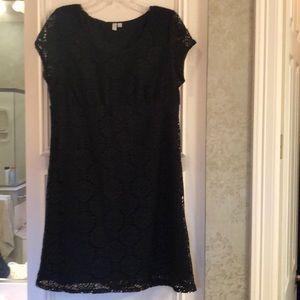 Black lace Madison dress size large